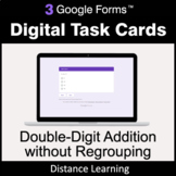 Double-Digit Addition without Regrouping - Google Forms Ta