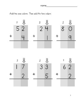 Double Digit Adittion For Beginners