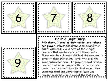 Double Digit Bingo 1.NBT.A.1