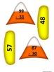 Double Digit Candy Corn Subtraction
