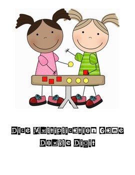 Double Digit Dice Multiplication Game