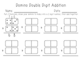 Double Digit Domino Math Center