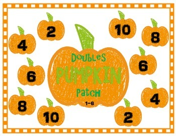 Double Digit Fact Games {Fall Edition}