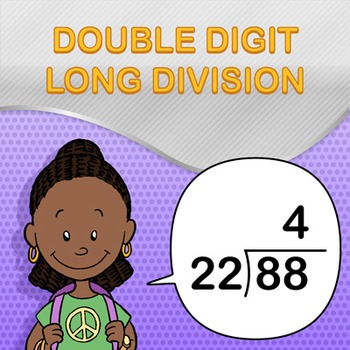 Double Digit Long Division Worksheet Generator - Make Infinite Math Worksheets!