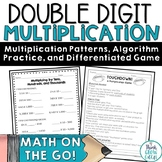 Multiplying two digit by two digit Worksheet and Game