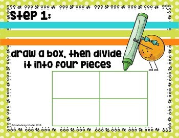 Double Digit Multiplication Area or Box Model Lesson and Worksheets