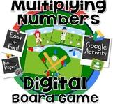 Double Digit Multiplication Board Game - #halftimedollardeals  GOOGLE CLASSROOM