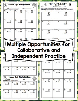 Double Digit Multiplication Boot Camp