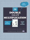 Double Digit Multiplication - Common Core Standards Pack C