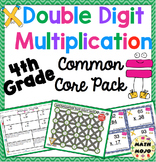 Double Digit Multiplication Common Core Standards Pack CCSS 4.NBT.5