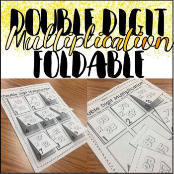 Double Digit Multiplication Foldable