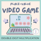 Double Digit Multiplication Game Video Game Distance Learning