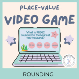 Rounding Games 4th Grade Video Game Distance Learning