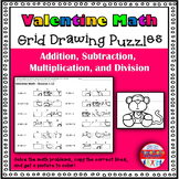 Valentine Math: Grid Drawing Fun!