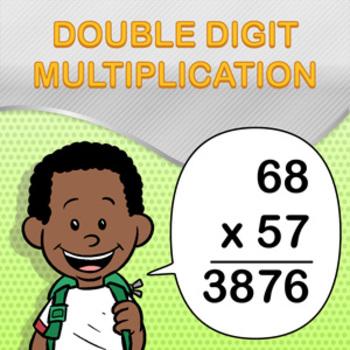 Double Digit Multiplication Worksheet Maker Create Infinite Math
