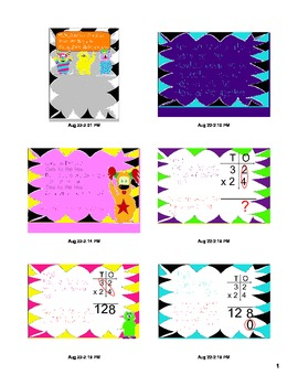 Double Digit Multiplication Monsters