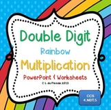 Double Digit Multiplication PowerPoint and Worksheets