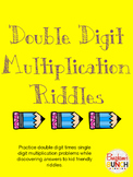 Double Digit Multiplication Riddles