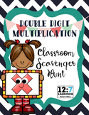 Double Digit Multiplication Scavenger Hunt