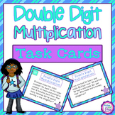 Double Digit Multiplication Word Problems Task Cards