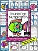 Double Digit Multiplication Task Cards, Recording Sheet and Board Game