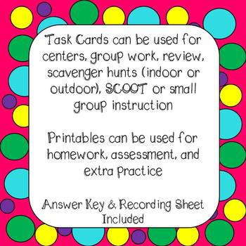 Double Digit Multiplication Task Cards and Worksheets