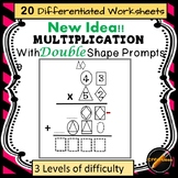 Double Digit Multiplication With DOUBLE Shape Prompts: A new Strategy