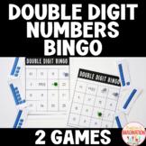 Double Digit Numbers BINGO Kindergarten & 1st Grade Math Games Whole Group