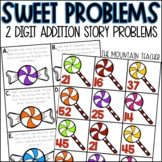 Double Digit Story Problems using Addition with Regrouping