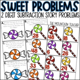 Double Digit Story Problems Subtraction with Regrouping