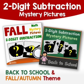Back To School, Fall - Double Digit Subtraction