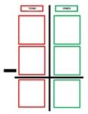 Double Digit Subtraction Chart