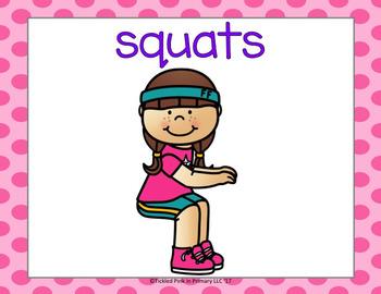 2 Digit Subtraction Fluency & Fitness Brain Breaks Bundle