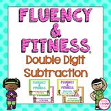 2 Digit Subtraction Fluency & Fitness Brain Breaks