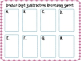Double Digit Subtraction I-Spy