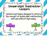 Double Digit Subtraction Masters