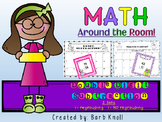 Double Digit Subtraction: Math Around the Room