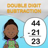 Double Digit Subtraction Worksheet Maker - Create Infinite Math Worksheets!