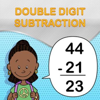 Double Digit Subtraction Worksheet Maker - Create Infinite