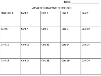 Double Digit Subtraction QR Code Scavenger Hunt Monster Theme