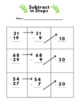 Double Digit Subtraction Using Expanded Form