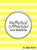 Double Digit Subtraction With Regrouping Task Cards