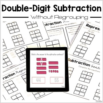 Double-Digit Subtraction Without Regrouping