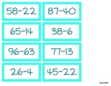 Double Digit Subtraction Without Regrouping Activities