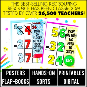 Double Digit Subtraction with Regrouping