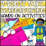 Double Digit Subtraction with Regrouping Activities & Hands-On Projects