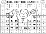Double Digit Subtraction with Regrouping Game--Collect the Candies