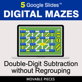 Double-Digit Subtraction without Regrouping | Digital Maze