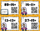 Double Digit Subtraction without Regrouping Task Card Sprints