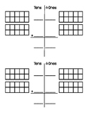 Double-Digit (Tens Place) Addition Worksheet for Special Education